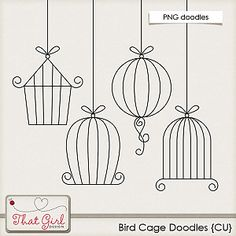 birdcage doodle