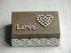 Wedding ring box. Personalized wedding ring bearer. Ring pillow alternative
