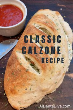Calzone Recipe With Pizza Dough, Stromboli Recipe, Low Carb Recipes, Baking Recipes, Free Recipes, Ricotta Cheese Recipes, Sandwich Recipes, Beef Sandwich, Pizza Recipes