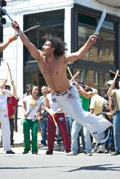 Brazilian Martial Art form, Capoeira# by davegolden, via Flickr