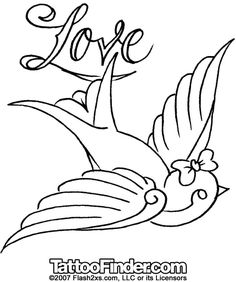 Tattoo stencils | Sparrow Stencils Pictures