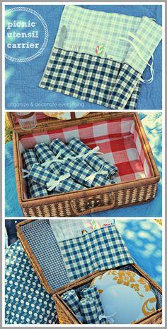 picnic utensil carri