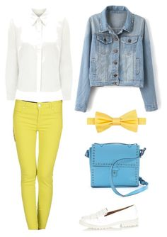 """""""Summer day - Fun"""" by beefashionable on Polyvore featuring Mode, Tommy Hilfiger, Eastex, Blue Luxury, IIIBeCa, River Island, women's clothing, women, female und woman"""