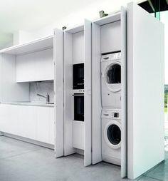TM Italia D90 lavanderia integrata in cucina