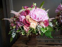 Wedding Receivement Table Centerpieces Flowers by Jardin Divers www.jardindivers.it