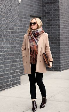 "ecstasymodels: ""LAYERED Coat: Theory (similar)   Scarf: Topshop (on sale)   Boots: Mason Margiela (brogue version + ankle boot version)   Denim:Citizens of Humanity (maternity)   Sunglasses: Prada  ..."