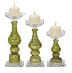 3-Piece Josefina Candlestick Set