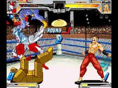 Kinnikuman Muscle Fight Canadianman vs Ramenman (requested by 22vianna)