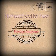 Free Homeschool Education: Homeschool Foreign Language for Free
