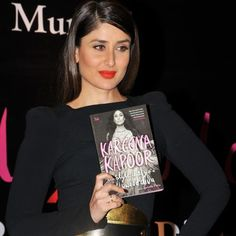 Kareena Kapoor Khan with her new book, Style Diary Of A Bollywood Diva