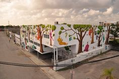 "In Miami, ""Flora of Ukraine,"" by the artists Interesni Kazki, who will be participating in Baltimore's ""Open Walls"" project. (Flickr)"