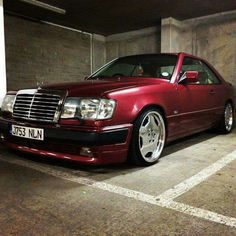 W124 Coupe More