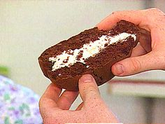 Whoopie Pies recipe from FoodNation with Bobby Flay via Food Network ** Half the pie recipe!!**