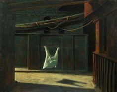 Gömlek acı çeker mi. | Rick Amor (Australian, b. 1948), Still Life (Interior), 1991.