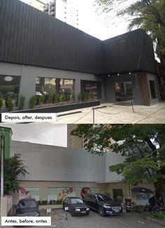Revitalização de fachada, renovación de fachada, Outdoor Decor, Home Decor, Decoration Home, Room Decor, Interior Decorating