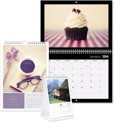 Découvrez le calendrier photo personnalisé qui est encore plus pratique que les agendas, faites un calendrier 2016 unique.