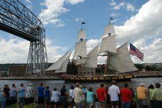 Tall Ships Duluth 2013: Parade of Sail