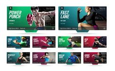 Nike+ Training by The Norik, via Behance