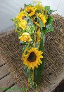 Hochzeitsmotto Sonnenblumen Naturlich Auch Im Brautstrauss Hochzeit