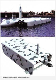 Submarine british midget