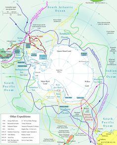 Expediciones a la Antártida