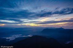 views from Adam's Peak, Sri Lanka (www.secretlanka.com) #adamspeak #srilanka #sripada Adam's Peak, Buddhist Traditions, Thing 1, Rock Formations, Sri Lanka, Destinations, Travel, Viajes, Traveling
