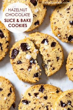 These slice and bake eggless cookies are easy to make, require no fancy equipment and have a wonderful buttery melt-in-the-mouth texture. Chocolate Slice, Chocolate Cookie Recipes, Easy Cookie Recipes, Chocolate Hazelnut, Chocolate Cookies, Egg Free Cookies, Quick Cookies, Gluten Free Cookies, Dairy Free Cheesecake