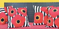 Marvelous And Stunning Poppy Pillows You Must Have To Make A Room Pop With Color!