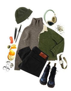 """""""merry christmas you filthy animal"""" by alexceptional ❤ liked on Polyvore featuring Talon, L.L.Bean, Maison Scotch, Pull&Bear, Bergdorf Goodman, J.Crew, Dr. Martens, KD2024 and Topshop"""