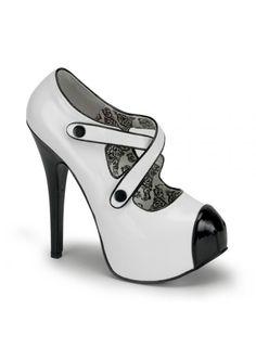 3854d855b8bd86 TEEZE-23 - Bordello Shoes (Beserk) Black High Heels