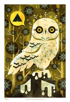 Snowy Owl on the Behance Network