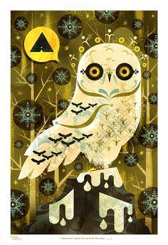 Snowy Owl  by Alberto Cerriteño