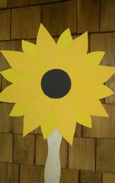 Sunflower fan for wedding