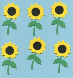 Sizzix Sunflowers