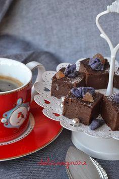 DOLCISOGNARE: Fondant alla crema di marroni e cioccolato