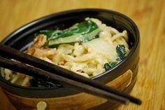 Bok Choy and Bacon Chow Mein by Food and Whine