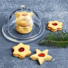 Hildabrödle: Diese Plätzchen aus Mürbeteig sind in Schwaben nicht nur zur Weihnachtszeit beliebt.  Das Rezept gibt es in der aktuellen Ausgabe der ALDI inspiriert auf S. 51 (http://catalog.aldi.com/emag/de_DE/print/ALDI_inspiriert_0616_2/).