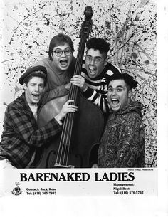 The musical band bare naked ladies