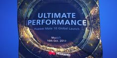 Eindrücke und Stimmen vom Mate 10 Launch Event #Events #Smartphone #Huawei_Mate_10