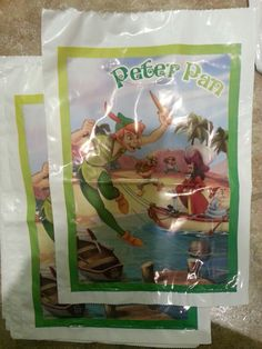 Pirate loot bags for the pinata stuff
