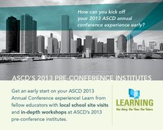 Come early to deepen your learning experience with these in-depth workshops. The three-, two-, and one-day Pre-Conference Institutes will be held at McCormick Place from March 13–15.