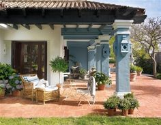 Gorgeous pillars - Una casa de cuento con ideas brillantes · ElMueble.com · Casas