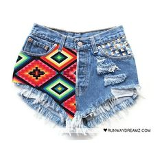 MOST_popular / #tribal #summer ❤ liked on Polyvore featuring shorts, bottoms and clothes - shorts