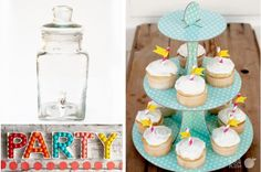For Your Sweet Tooth - Ceramic Letter Dishes, Cupcake Stands & Drink Dispensers under $10  WOW