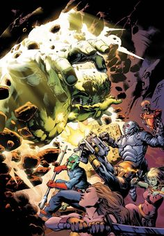 The Incredible Hulk_enigma force by Carlo Pagulayan