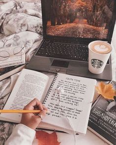 Morning Inspiration discovered by - Studying Motivation Autumn Aesthetic, Book Aesthetic, Flower Aesthetic, Foto Canon, Morning Inspiration, Blog Inspiration, Autumn Inspiration, The Best Revenge, Study Hard