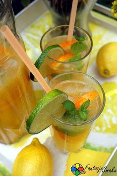 Lemoniada z nutą pomarańczy i mięty http://fantazjesmaku.weebly.com/lemoniada-z-nut261-pomara324czy-i-mi281ty.html