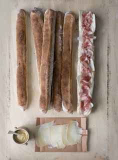 jambon & fromage...