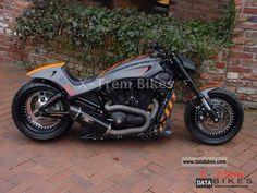 Harley-Davidson V-Rod Night Rod   Harley Davidson VRSCD Night Rod VRSC V-Rod Night Rod NLC conversion ...