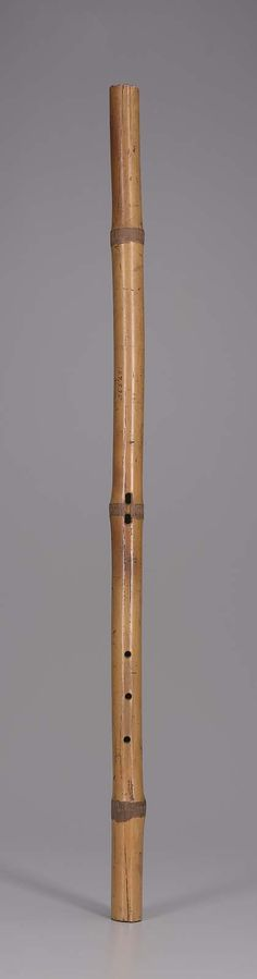 Duct flute (wilwil'telhuku'p)  Probably Tohono O'odham people  19th century
